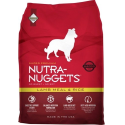 NUTRA NUGGETS Lamb Meal and...